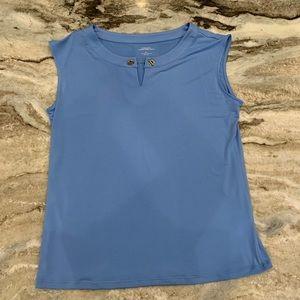Carmen Tiffany blue top